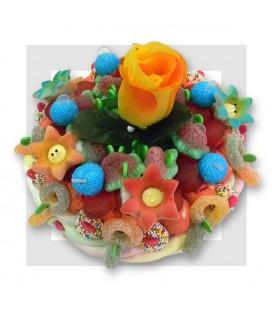 FLEURS Gâteau de bonbons