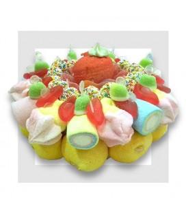 BISOUS Gâteau de bonbons