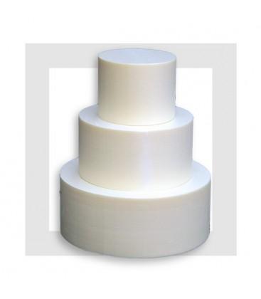 SUPPORT PYRAMIDE 3 ETAGES DE 100 mm en polystyrène extrudé