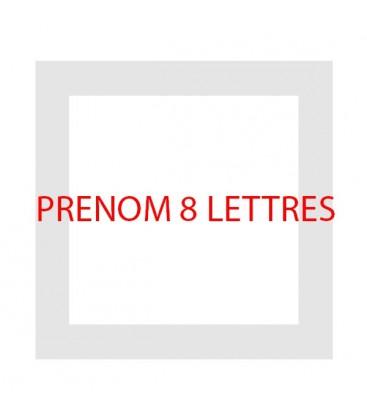 SON PRENOM en 8 Lettres