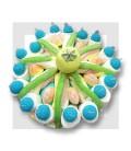 VANILLE CITRON gâteau de bonbons