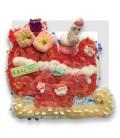 Le Traineau du pere Noël en bonbon.