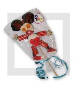 PETIT PERSONNAGE MAISON en bonbons