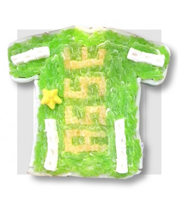 MAILLOT de FOOT composition de bonbons