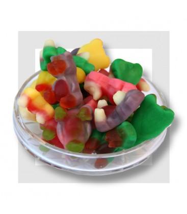 OURSONS 3D bonbon gélifié multicolores