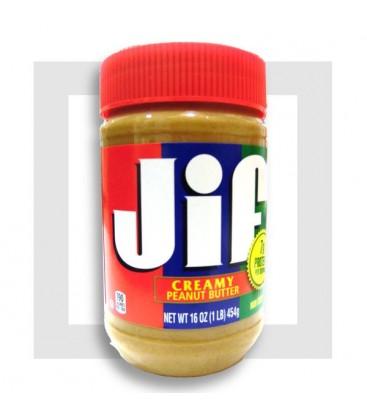 JIF PEANUT BUTTER CREAMY-Beurre de cacahuètes