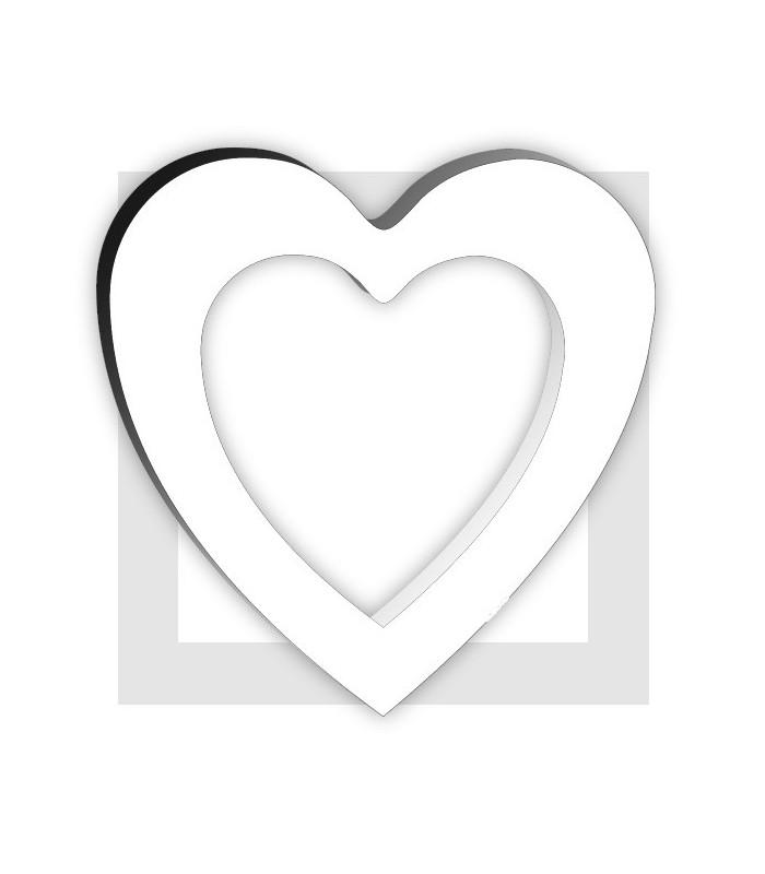 Coeur couronne en polystyrene pour composition de bonbons for Coeur couronne et miroir apollinaire
