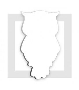 HIBOU en polystyrène pour composition de bonbons