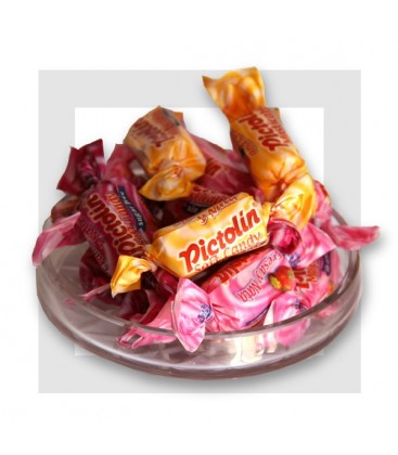 PICTOLIN PAM SOFT FRUITs _ Bonbons sans sucre