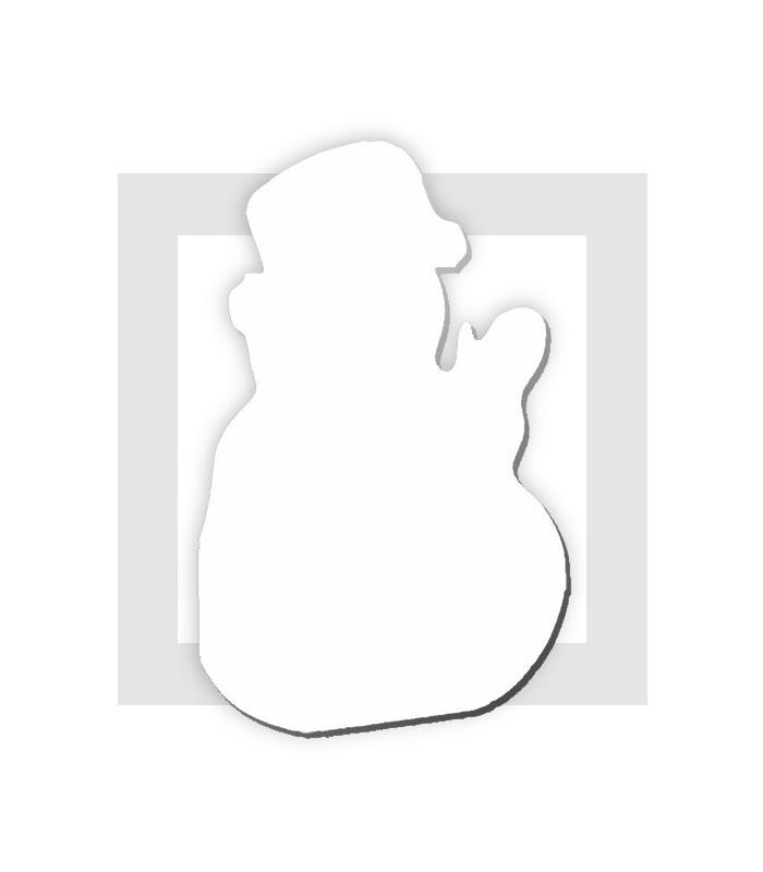 bonhomme de neige polystyrene support pour g teau de bonbons. Black Bedroom Furniture Sets. Home Design Ideas