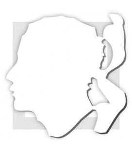 TÊTE DE MAURE CORSE en polystyrène