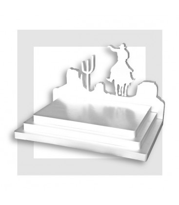 LA CHEVAUCHEE FANTASTIQUE - Présentoir en polystyrène