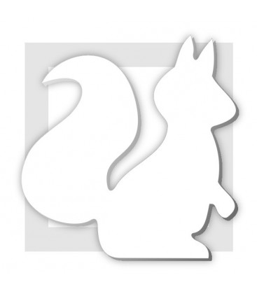 SANDY L'écureuil - support pour composition de bonbons