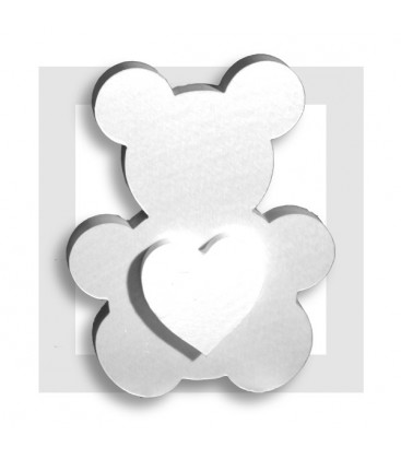 POOKY ourson en polystyrène pour composition de bonbons