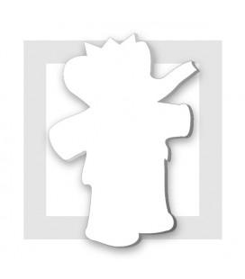 LE ROI BABAR support polystyrène pour composition de bonbons