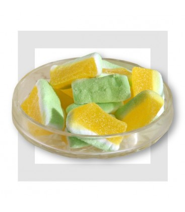 PINA COLADA - bonbon gélifié acide