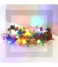 LA SAVOYARDE - Bûche de noël lumineuse en bonbon