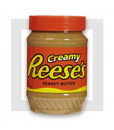 REESE'S CREAMY PEANUT BUTTER -Beurre de cacahuètes
