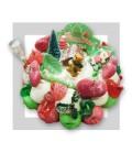 HAUTACAM - Gâteau de bonbons de noël