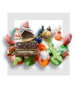 LA VOSGIENNE Bûche de bonbons