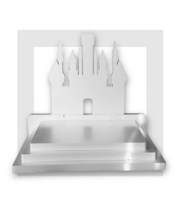 Le-Chateau-de-princesse - Présentoir en polystyrène