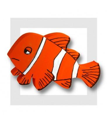 NEMO poisson polystyrène à peindre - modèle