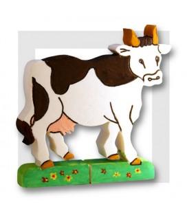 KROWKA Vache à peindre en polystyrène