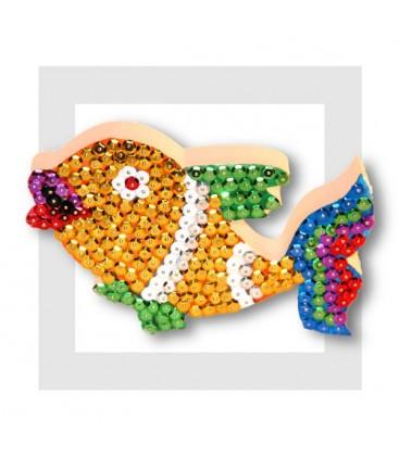 KIT sequin - poisson NEMO - la pièce finie