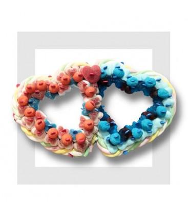 Composition de bonbons en TOI et MOI