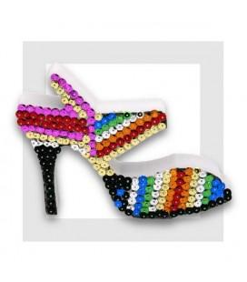 KIT SEQUIN - La Chaussure de Cendrillon