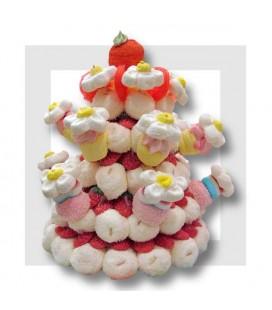 Marguerite - gâteau de bonbons