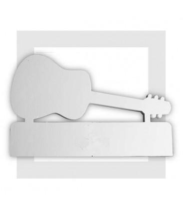 LA Guitare classique - fond de présentoir en polystyrène