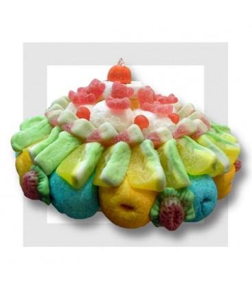 Pina-colada gâteau de bonbons