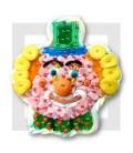AUGUSTE clown en composition de bonbons