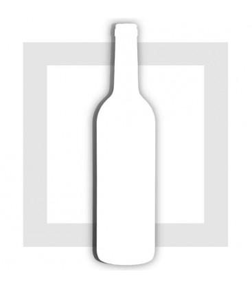 Bouteille de Vin de Bordeaux - support pour composition de bonbons