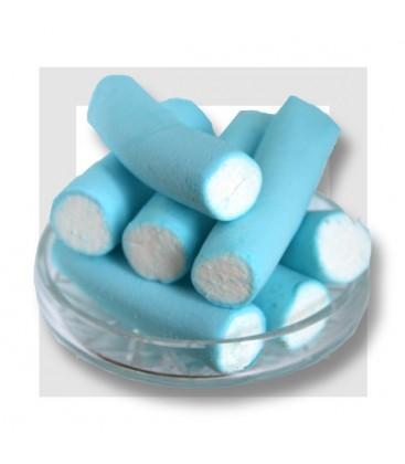 GUIMAUVE COUPEE BLEUE ET BLANCHE pour gâteau de bonbons