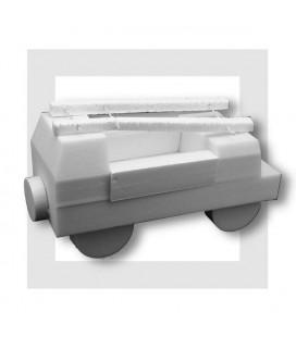 Le Camion de Pompier - support polystyrène pour composition de bonbons