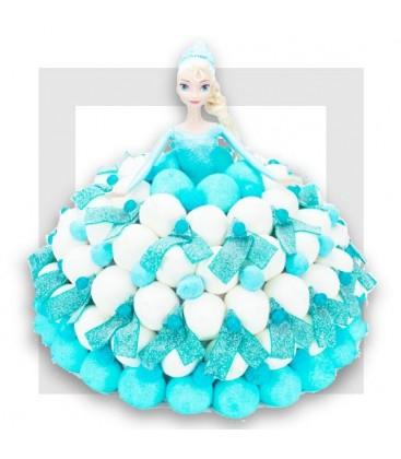 ELSA Reine des Neiges - composition de bonbons
