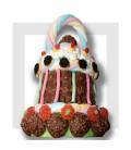 CLARINETTE - cloche de pâques en chocolat