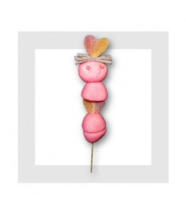 VALENTIN - brochette de bonbon