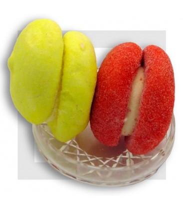 MACARON GUIMAUVE XL -gros bonbon guimauve