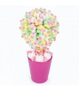 Arbre à fleurs en bonbons