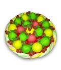 Tarte aux cerises - gâteau de bonbons
