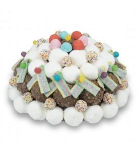 Gâteaux de bonbons Dôme multicolore