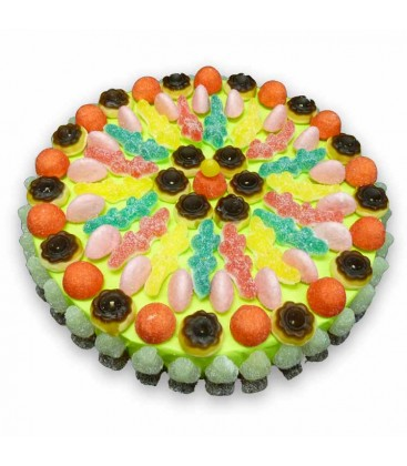 Tarte de bonbons 100% Haribo