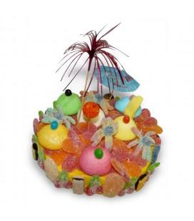 L'Ile aux Trésors - gâteau de bonbons