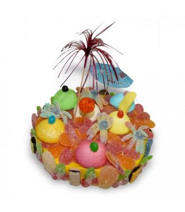 L'Ile aux Tresors - gateau de bonbons
