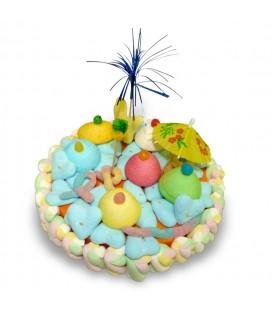 L'Ile Fantastique - Gâteau de bonbons