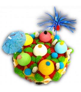 L'ile Marquise - Gâteau de bonbons