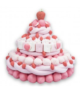 Ice-cream rose bonbons